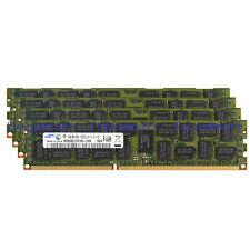New Samsung 16GB 4X4GB DDR3 1333MHz PC3-10600R ECC REG Registered Server Ram