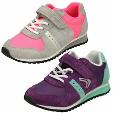 Girls Clarks Casual Trainers 'Super Step'
