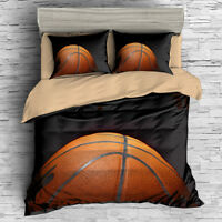 3D Basketball Dunk Bedding Set Duvet Cover Pillowcase Comforter Cover Set Sports
