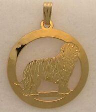 Komondor Jewelry Gold Pendant by Touchstone