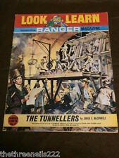 LOOK and LEARN # 340 - THE TUNNELLERS - JULY 20 1968