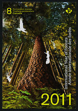 Canada 2463a booklet MNH Trees, Mushrooms, International Year of Forests