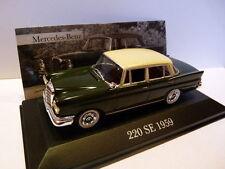 voiture 1/43 ixo altaya MERCEDES : 220 SE 1959