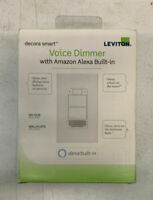 Leviton Decora Smart Wifi Voice Dimmer With Amazon Alexa Built In - SEALED