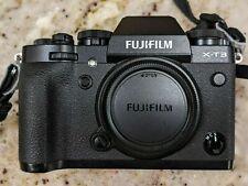 Fujifilm X-T3 26.1MP Digital Camera - Black (with Battery Grip).     Fuji XT3