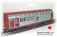Märklin Wagon avec parroi coulissant Série limitée Hewlett Packard Viridia 24C