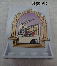 Lego 40249 + sticker Door 2x5x5 Swivel with Trapezoid Base Harry Potter du 4757