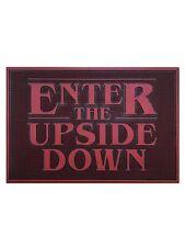 Stranger Things Door Mat Enter the Upside Down Rubber Doormat 60x40cm