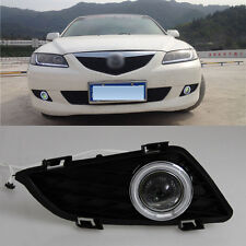 For Mazda 6 2004-05 COB Angel Eyes Projector Lens Fog Lights Lamp Kits