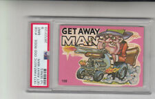 1973 Fantastic Odd Rods 1st Series #108 Get Away Man PSA 9 MINT Super Clean Card