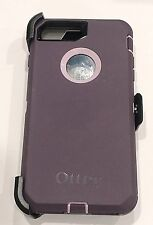 Otterbox Defender Case W/Holster Clip for iPhone 7 Plus & 8 Plus Purple Nebula