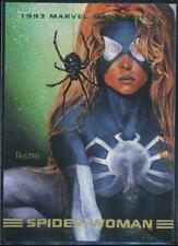 1993 Marvel Masterpieces Trading Card #33 Spider-Woman