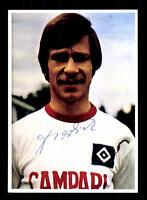 Hans Sperlich Autogrammkarte Hamburger SV Spieler 70er Jahre Original Signiert