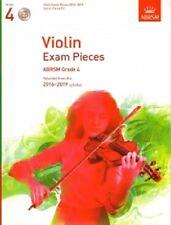 Grade 4 VIOLIN EXAM PIECES 2016-19 ABRSM Music Book violin part, piano score, CD