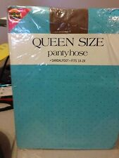 Wow! Vintage Super Value queen size 1-2x nude pantyhose