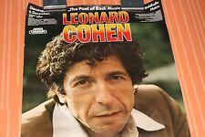 Leonard Cohen Concert Tour Poster Germany 1977 Original 70s Rock Poster