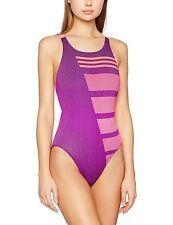 Adidas Infinitex +   CB 1pc Ladies Swim Suit SHOCK PURPLE SIZE 8 ( XS ) A153-11