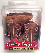 Infant Size 1 John Deere Johnny Poppers Cowboy Country Western Camouflage Boots
