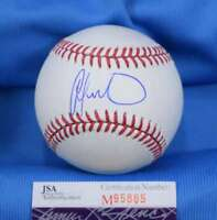 Odubel Herrera Jsa Coa Autograph Major League Oml Hand Signed Baseball