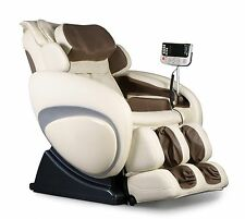 Taupe Osaki Os-4000 Zero Gravity Massage Chair Recliner + Heat Therapy Warranty