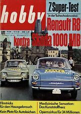 hobby 19/64 1964 Skoda 1000 MB Renault R8 Moto-Ball Nikonos Delta-Plan Sahara