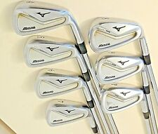 """Mizuno MP-H5 Irons 4-PW / Project X 6.5 X flex shafts / +1.5"""" 2* UP / NEW GRIPS"""