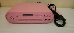 ACOUSTIC SOLUTIONS DVD-296K PINK Karaoke CD/DVD Player with Microphone
