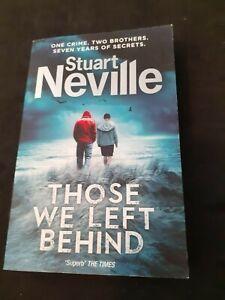 Those we left behind - Stuart Neville
