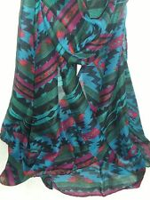 BNWT-Ex Long-Soft-Colourful Tribal Print Scarves/Sarongs-180cm Various Colours