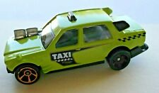 SCARCE HOT WHEELS TIME ATTAXI DHP23 LIME GREEN MODEL CAR from MATTEL 2015 LOOSE