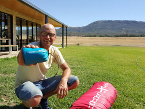 Cocoon xlite #5 Paragliding concertina bag fast packing bag