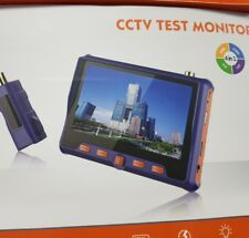 TESTER TELECAMERE AHD KIT CCTV PER TEST MONITOR PORTATILE 3,5 RICARICABILE LED