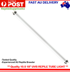 Reptile Fluorescent Light Tube UVB 10.0 15w - 18 inch 45cm T8 UVB Reptile Light