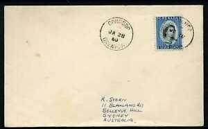 Grenada 1960 Cover to Australia - CONCORD cancel