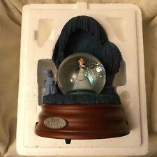 Disney Cinderella MAGICAL GOWN Musical Figurines Lite up Rotate SnowGlobes-IOB