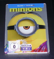 Minions Exclusif Limitée steelbook blu ray Expédition Rapide Neuf & Ovp