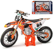 Jeffrey Herlings REDBULL KTM SXF 450 1:18 Die-Cast Motocross MX Toy Model Bike