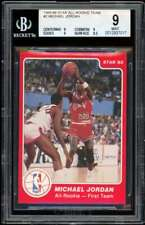 Michael Jordan Rookie Card 1985-86 Star All-Rookie Team #2 BGS 9 (9 9 9 8.5)