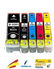 5x Cartuchos de Tinta Non Oem para Epson xp540 xp640 xp900 xp530 33XL set