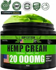Hemp Pain Relief Cream - Extra Strength - Relieves Muscle and Joint Pain
