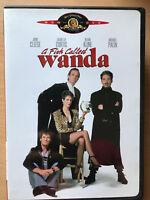 Un Peces Llamados Wanda DVD 1988 Comedia Británica Clásico con / John Cleese US