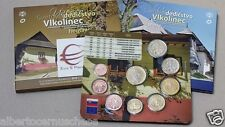 2015 8 monete 3,88 euro SLOVACCHIA Slovaquie Slovakia Slowakei Vlkolinec