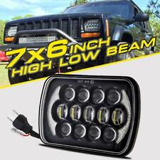 """7X6"""" 5X7"""" 105W Hi/Lo Beam CREE LED Headlight DRL Sealed 4D Projector Replace HID"""