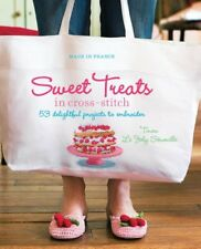 BOOK-Made in France: Sweet Treats in Cross-stitch,Tinou Le Joly Senov