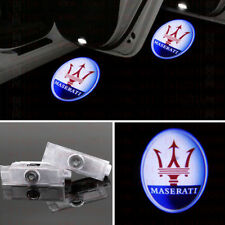 2x Car LED door Lights Welcome projector Ghost Shadow For Maserati Levante 17-19