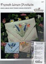 Victoria Sampler French Linen Pockets Accessory Pack and Cross Stitch Pattern