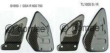 SUZUKI tl1000s tl1000r sv650 GSX-R 600 750 CARBONIO paratalloni per tallone Saver