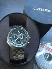 Mens Gents Citizen  Promaster Eco Drive e210 Titanium Chronograph Caliber 2100