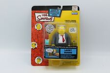 The Simpsons Larry Burns Action Figure Series 11 Playmates Toys New Wos Moc