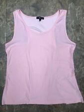 296e1110233 Derek Heart Sz 3X Pink Soft Stretchy Racerback Tank Top Casual Womens  Juniors